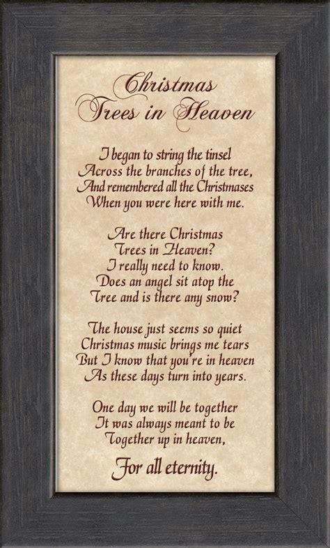 christmas tree in heaven christian memorial bereavement