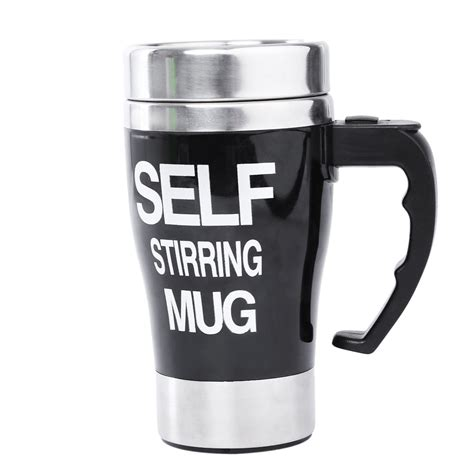 Automatic Self Stirring Mug Steering Coffee Cup Gelas A Terjamin stainless steel automatic mixing cup self stirring milk tea coffee mug electric stir drinkware