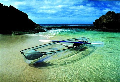 clear kayak molokini clear blue hawaii 2 seater polycarbonate clear