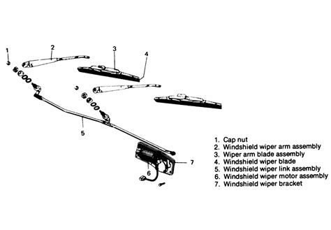 repair guides windshield wipers windshield wiper motor and linkage autozone com repair guides windshield wipers windshield wiper motor autozone com