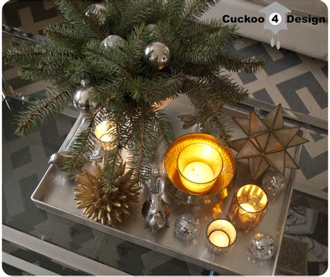 how to decorate a coffee table for christmas coffee table decor cuckoo4design
