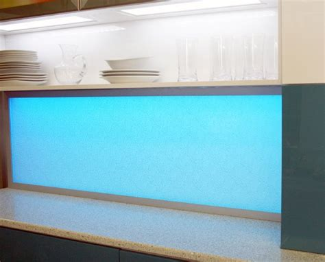 led kitchen backsplash led backsplash