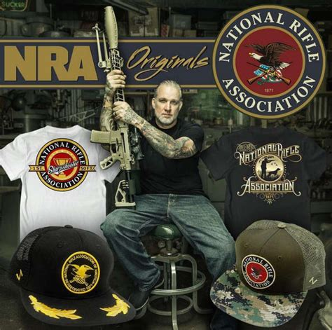 Motorcycle Apparel Houston Texas by Jesse James Teams With Nra For A New Line Of Apparel