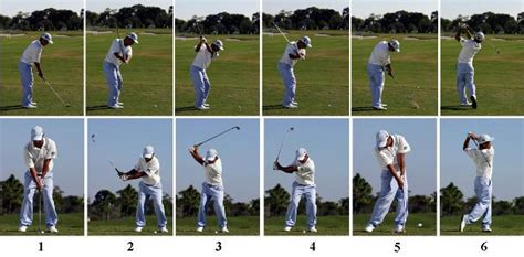 correct golf swing sequence divers