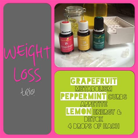 weight loss living living essential oils weight loss trio check it