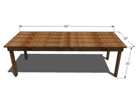 diy dining room table plans diy farmhouse table hgtv