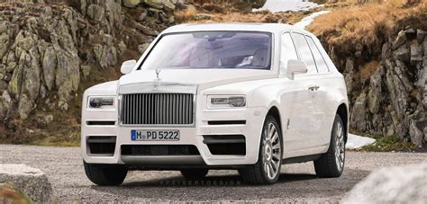 rolls royce cullinan render rolls royce cullinan gets rendered based on spy photos