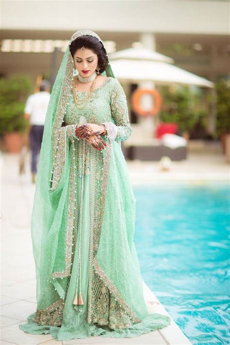 pakistani bridal lehenga dresses designs styles 2017 2018
