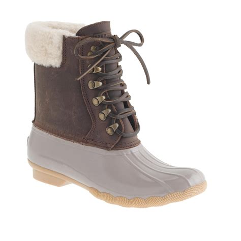 Boots Import Gea11076ba Ready s sperry top sider 174 for j crew shearwater boots j crew