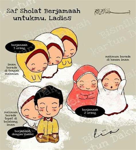 Kaos Muslim Bukan Teroris Pray For World 4 Cr saf sholat untuk wanita kartun dakwah