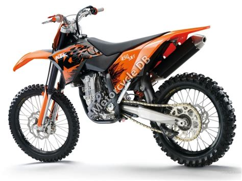 2012 Ktm 450sxf Specs Ktm 450 Sx F Pictures Specifications And Reviews