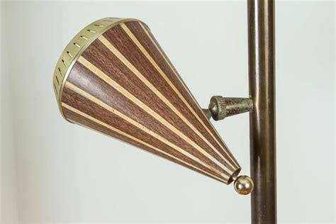 Pole L Shades by 1950s Adjustable Three Shade Stiffel Extension Pole L