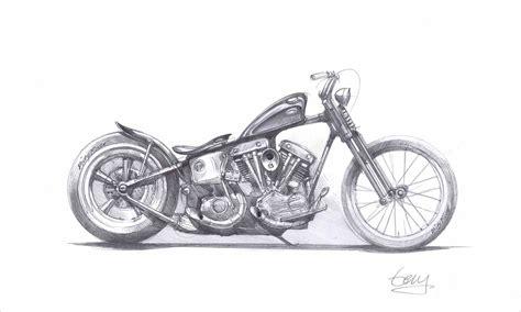 Harley Davidson Drawings by Motorbike Harley Davidson Drawing Ntskala