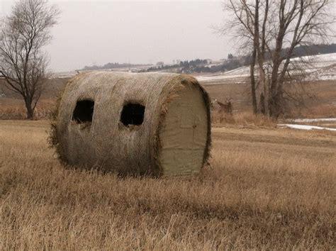prairie hunt hay bale blind photos prairie blinds