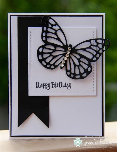 Made Cards For Birthday 380 Best Cards Sophisticated Black White Images On