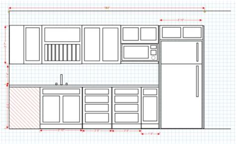 Kitchen Dimensions Pdf by Kitchen Cabinet Build 1 About The Planning Phase By