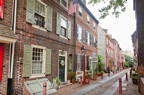 elfreth s alley oldest street in america historic homes for rent