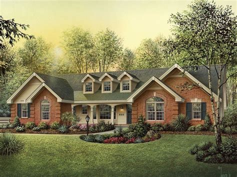 brick country house plans oakbury country house plan alp 09h9 chatham design group house plans
