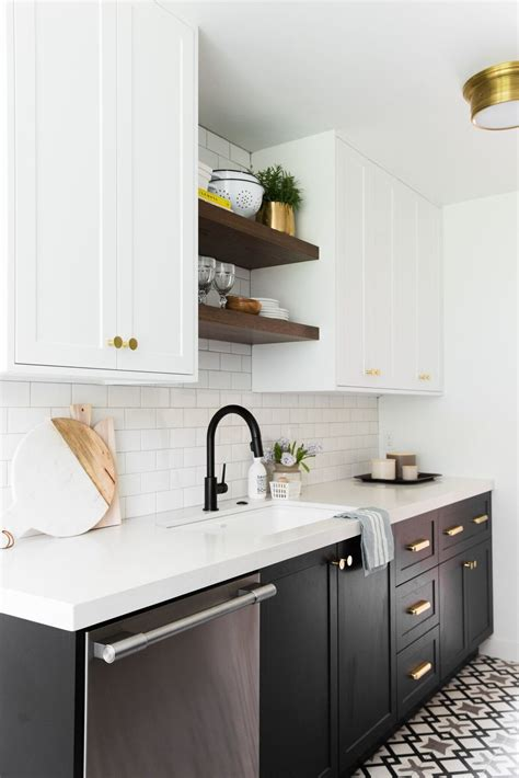 open kitchen shelves decorating ideas 2018 hillside kitchen remodel reveal