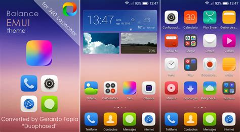 360 launcher themes pack balance emui theme for 360 launcher by duophased on deviantart