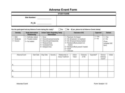 adverse reactions identifying causality reporting