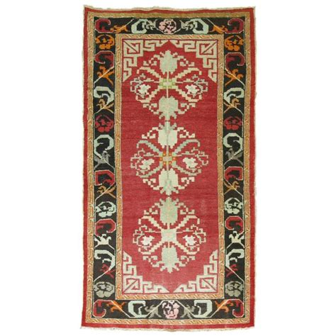 vintage style rugs vintage turkish rug influenced by mongolian style rugs for sale at 1stdibs