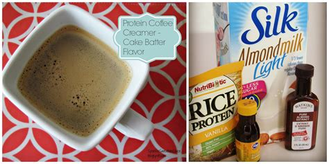 Protein Coffee sparkle sweat and juice protein coffee creamer cake