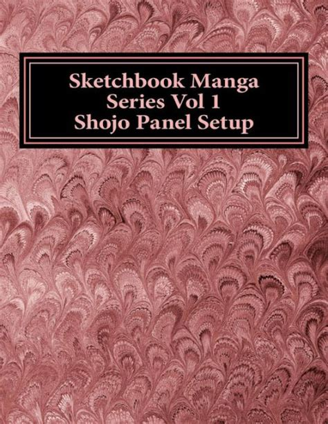 barnes and noble sketchbook sketchbook series vol 1 shojo panel setup by h2yk
