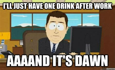 The Best 'One Drink' Memes Out There   Mandatory
