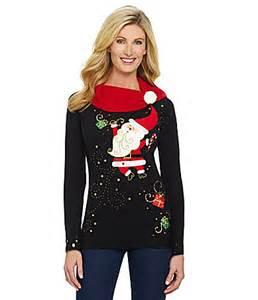 Berek happy santa dance christmas sweater dillards com