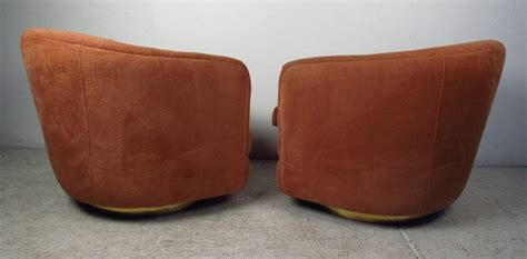 Milo Baughman Swivel Tub Chairs For Sale At 1stdibs Swivel Tub Chairs For Sale