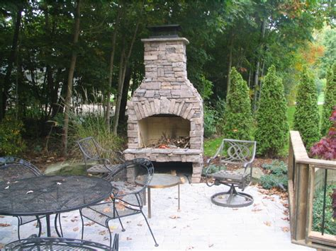 outdoor stone fireplace outdoor fireplace gallery