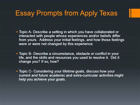 Apply Essays Topics by Apply Essay Prompts