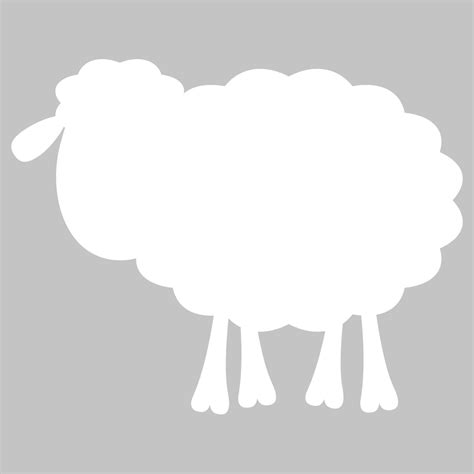 sheep wall stickers wallstickers folies sheep whiteboard wall stickers