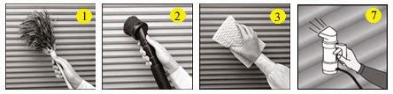 how to clean l shades how to clean blinds with the best way