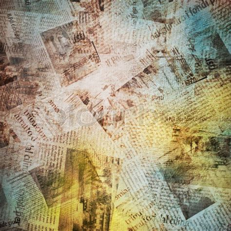 Newspapers Background Stock Illustration 294853400 Background With Newspaper Stock Photo Colourbox