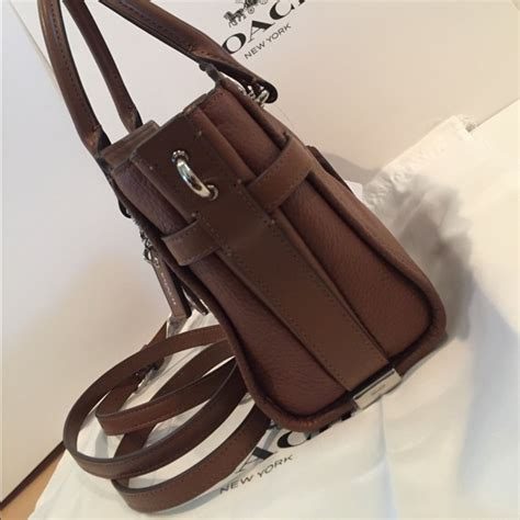 Coach Swagger Size 21 Saddle Authentic 49 coach handbags coach swagger 21 carryall in