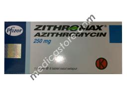Obat Azithromycin 250 Mg zithromax tablet 250 mg