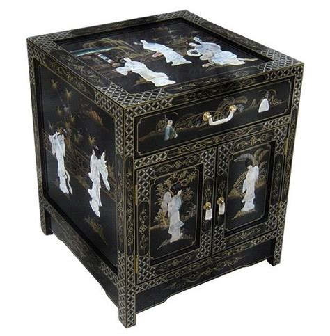 black lacquer end table furniture end table black lacquer