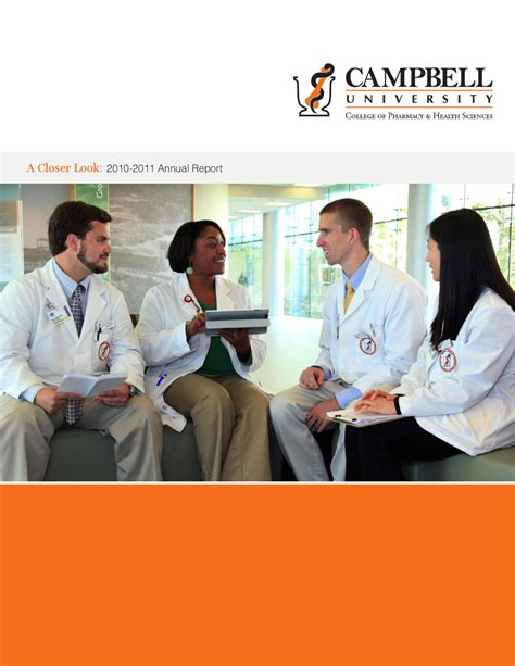 Pharmaceutical And Healthcare Mba Of The Sciences by Cbell College Of Pharmacy Health Sciences