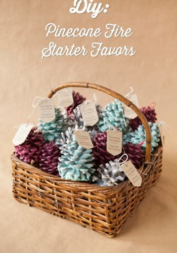 home craft ideas for gifts fresh christmas t craft ideas diy pinecone fire starter favors by jen carreiro project