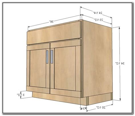 Kitchen Base Cabinet Height Stunning Standard Kitchen Cabinet Sizes Contemporary Amazing Intended For Kitchen Sink Cabinet