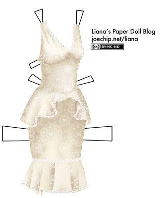 peplum lianas paper dolls