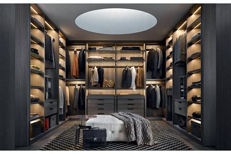 walk in senzafine walk in closet by cr s poliform for poliform