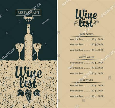 design wine menu 15 wine menu designs editable psd ai format download
