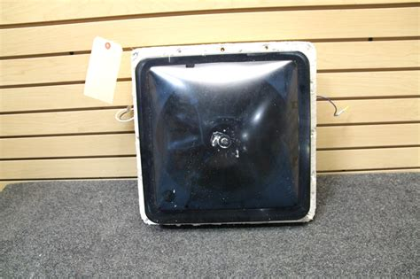 fantastic fan vent cover smoke rv accessories used rv fantastic vent fan w smoke cover