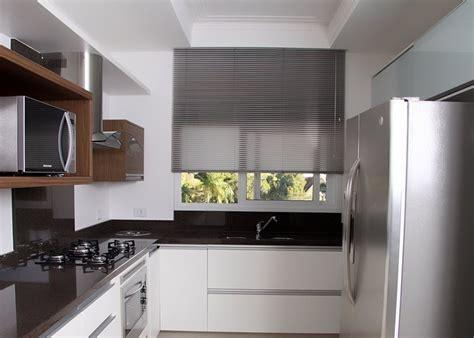 cortinas estadas para cocina foto persiana horizontal de aluminio