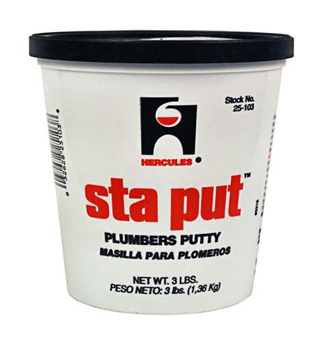 Oatey 25103 Plumber Putty Sta Put 3lb at Sutherlands