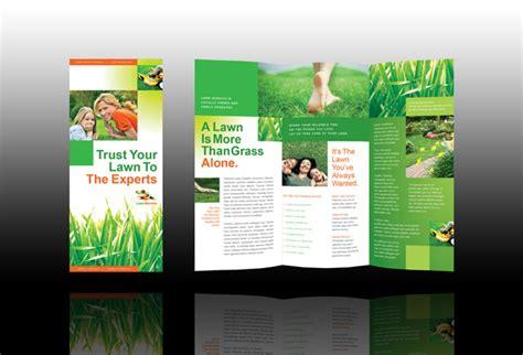 landscape brochure template lawn care brochure studio design gallery best design