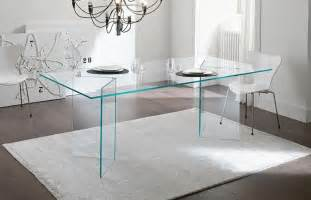 Dining Room Tables Glass bacco glass table by tonelli